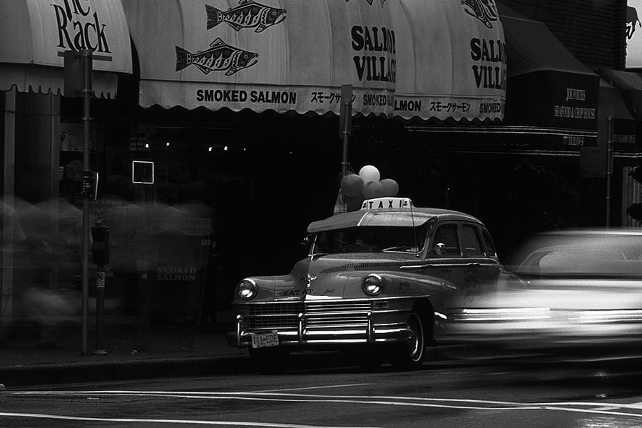 Old NYC Taxi